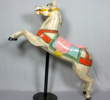 Cheval de manège, vers 1900