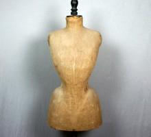Mannequin de couture, vers 1890