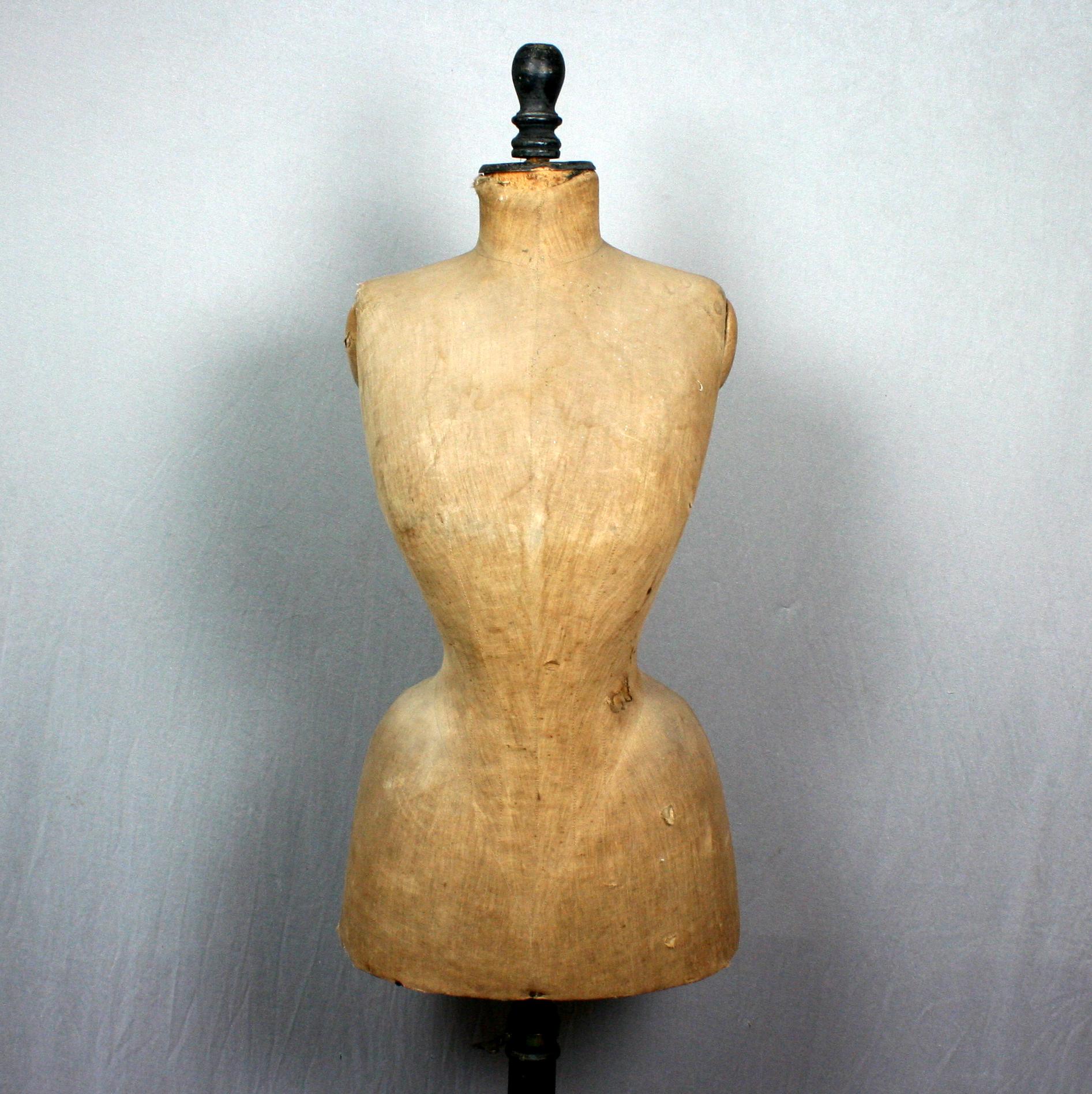 Mannequin De Couture Vers 1890 Weber Antiquites Objets De