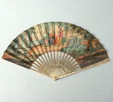 Eventail XVIIIe siècle