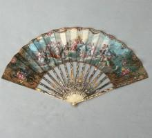 Eventail  « Les dieux de l'Olympe », XVIIIe siècle