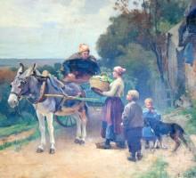 Emile Charles Dameron 1848 1908 2
