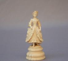 Ivoire sculpté XIXe siècle