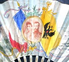 Eventail, visite de Nicolas II et de l'escadre Russe à Paris 2