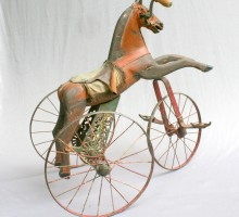 Tricycle cheval Napoleon III 1