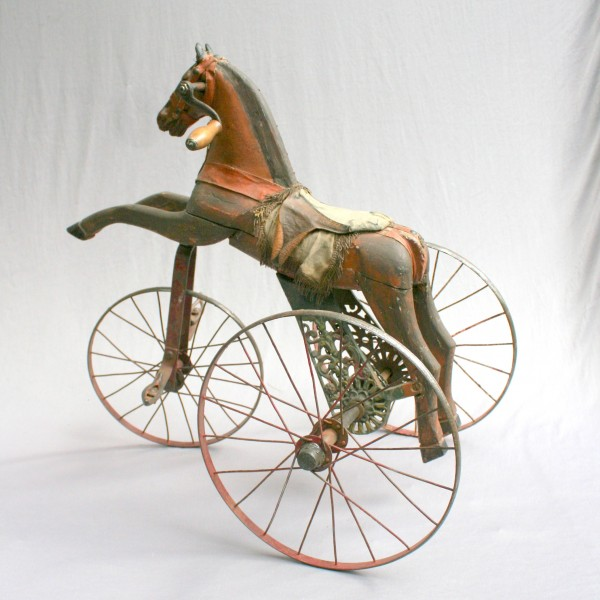 antique horse tricycle 19 th century