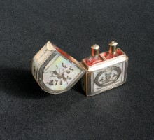 Nécessaire à parfum nacre, XVIIIe siècle (1)