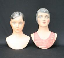 Têtes mannequins Siegel garçon et fille (1)