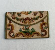 Pochette à courrier en sablé de perles XVIIIe siècle (1)