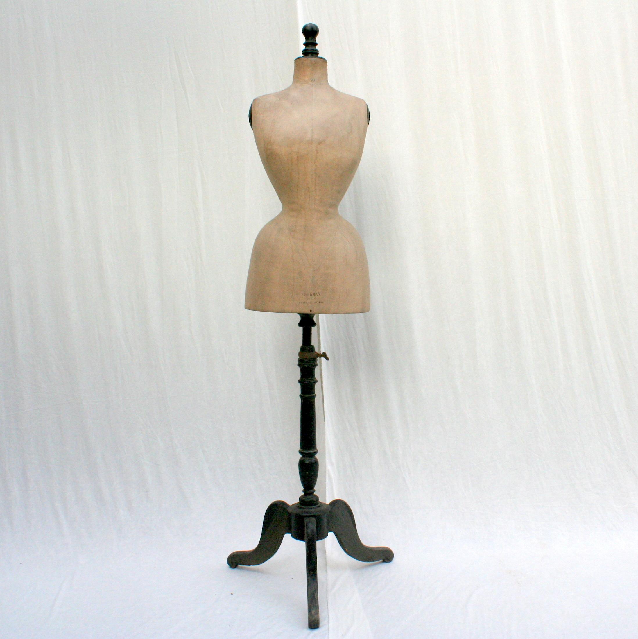 Mannequin couture Stockman fin XIXe 1900 (1)