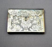 Carnet métal gravé (1)