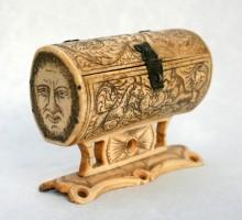 Coffret os gravé XVIIe siècle (5)