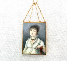 miniature 1810 cadre or (1)