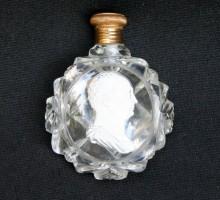 Flacon à sels cristallo cérame Maximilien 1er de Bavière (1)
