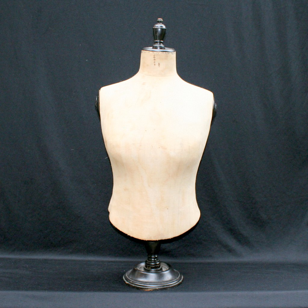 mannequin buste fin du xixe si cle. Black Bedroom Furniture Sets. Home Design Ideas