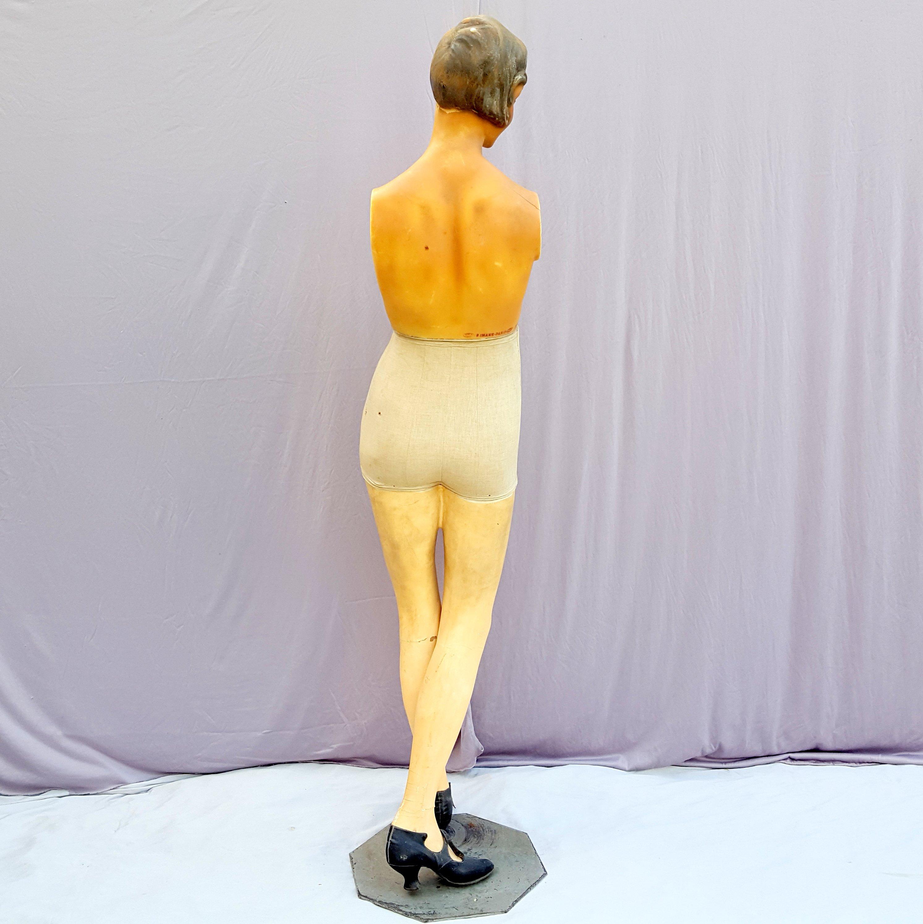 mannequin cire imans paris poque art d co. Black Bedroom Furniture Sets. Home Design Ideas