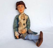 marionnette XIXe siècle, le petit marquis (1)
