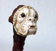 canne ivoire et néflier sanglant, chien au bonnet de dentelle (1)