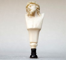 Cachet ivoire Christ (1)