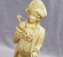 sculpture ivoire gentilhomme (1)