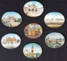 Miniatures indiennes XIXe siècle (1)
