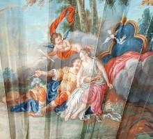 Eventail XVIIIe Venus et Adonis (3)