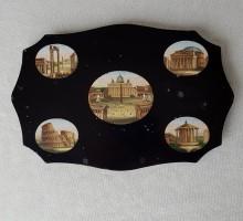 Micro mosaïque monnuments de Rome (1)