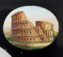 Micro mosaïque monnuments de Rome (5)