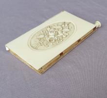 Carnet ivoire gravé XIXe siècle (4)