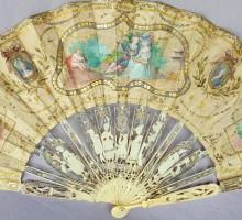 Eventail XVIIIe siècle (2)