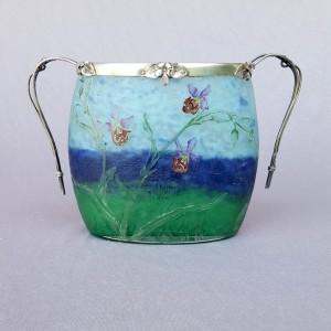 Vase Daum Art nouveau (1)