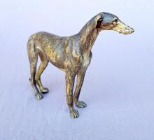 Chien levrier bronze de Vienne (3)