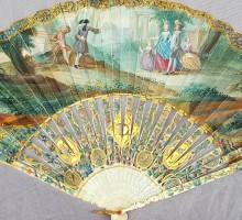 Eventail époque Louis XVI le jouet dangereux (1)