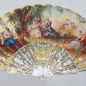 Eventail XIXe siècle (1)