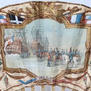 Eventail comémoratif batailles Napoléoniène (2)
