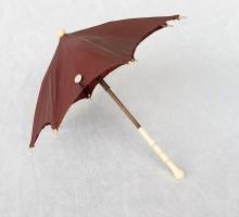 Ombrelle de poupée ivoire (1)
