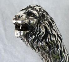 Canne argent Lion (1)