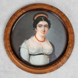 Miniature XIXe Johann Ender (1)